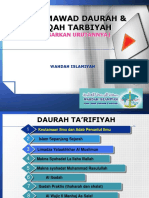Daftar & Urutan Mawad Ta'Rifiyah