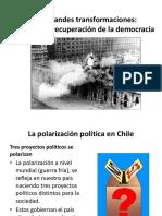 polarizacion en chile