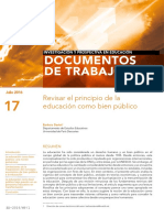 Documento de trabajo Unesco