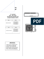 BE_Service Manual P Series_30K36K_ 220V