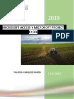 Access y Project Valeria