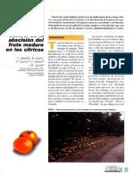 Control de Abscisión Del Fruto Maduro en Los Cítricos