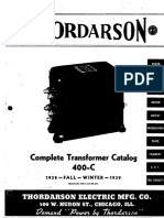 Thordarson catalogue 400C