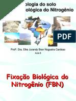 LSN 805 Aula 8 - Fixacao Biologica Do Nitrogenio