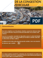 Análisis de La Congestión Vehicular