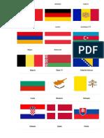 Banderas Paices del mundo