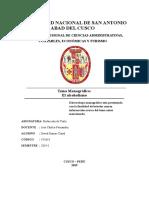 Monografia Del Alcoholismo
