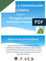 3 Básico Clase 1 U.3 Pronombres Personales