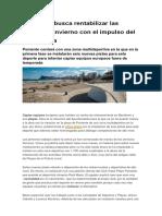 Benidorm Busca Rentabilizar Las Playas en Invierno Con El Impulso Del Voley Playa
