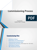 Commisioning Process