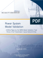 NERC model validation
