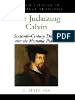PAK, G. Sujin (2010) Judaizing Calvin Sixteenth-Century Debates over the Messianic Psalms. New York. Oxford University Press..pdf · versión 1.pdf