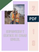 Supervisor Residente y Cuaderno de Obra