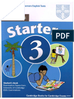 Tests Starters 3 Book