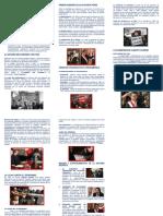Perú y América en Las Últimas Décadas - Triptico