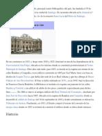 La Biblioteca Nacional de Chile