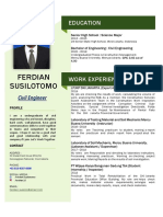 CV Ferdian Update 2019