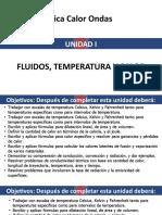 Unidad i. Temperatura y Calor