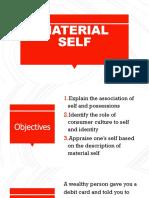 Material Self