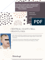 Biopsi Eksisi Central Giant-cell Granuloma Mandibula Dan Aplikasi Edit