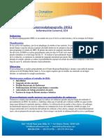 Hystersalpinogram (HSG) General Information, EDI-sp