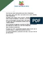 DIETA HCG PASSO A PASSO + DICAS