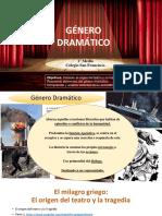 GÉNERO DRAMÁTICO 1