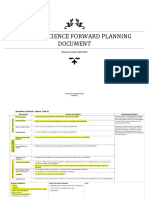 science forward planning doc