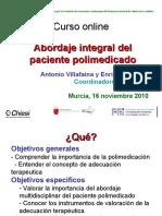 Presentacion Curso Online Polimedicados Murcia 2010