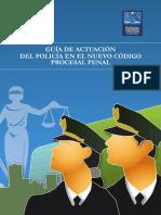 Guía de actuación del Policia