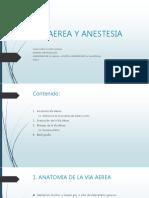 via aerea en anestesio