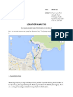 38K16-CLC_Group 4_Location Analysis (Group Assignment)