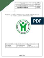 RX-PRO03 Protocolo Servicio de Radiología e Imágenes Diagnósticas
