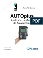 Ansed - Kane Autoplus User Manual - Spanish 2014
