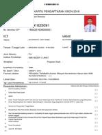 Form asli pendaftaran