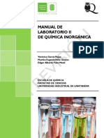 Manual laboratorio de química inorgánica