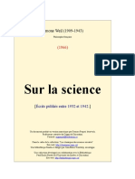 Sur La Science