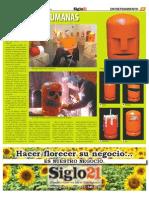 Ermengol y Sus Bombonas - Siglo 21 - No .549 -.Nov 11 de 2010
