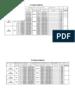 Line Cable Schedule Mirsarai