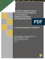 III-plan de Manejo de Transito