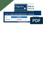PLE 5.0 Libro Diario Simplificado 5.2 - 5.4 Macro b