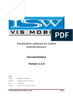 Iswvismobiledokumentation v1.5.9 En