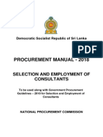 Corrected Tracked ProcManualSelection and Employment of Consultants Final 26.05.2018 3