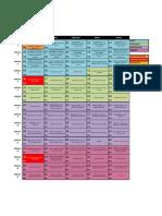 CLF ITQ CI 2019-2 - Calendario