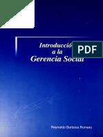 Libro Gerencia Social Barbosa