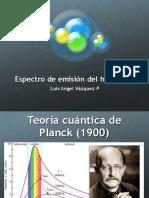 Espectro de Emisión Del Hidrógeno