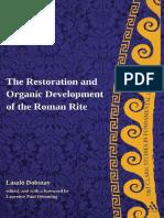(T&T Clark Studies in Fundamental Liturgy) Laszlo Dobszay, Laurence Paul Hemming - Restoration and Organic Development of the Roman Rite (T&T Clark Studies in Fundamental Liturgy)-T & T Clark Internat.pdf
