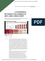 Crecimiento Económico de Santa Cruz Supera El 40% Entre 2012 y 2017 _ Dinero _ EL DEBER