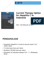 WS13.1 Yudi W, Eka S - Current Therapy Hep C in Indonesia PKB 2019