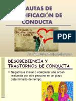 Pautas de Modificación de Conducta